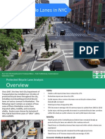 NYC Protected Bike Lanes Report