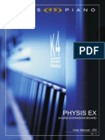 User Manual Physis EX (en) V11