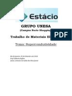 Trabalho de Materiais Elétricos AV1