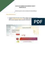 Manual de Uso de Los Correos Con Dominio Vision y Marketing