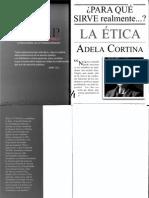 Para Qué Sirve Realmente La Ética_Adela Cortina
