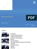 Oracle IProcurement-Training Material