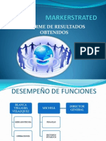 MARKERSTRATED INFORME