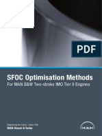 SFOC Optimization Methods - For MAN B&W Two-Stroke IMO Tier II Engines