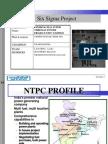 NTPC Vindhyachal-six Sigma Project