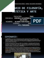 Seminario de Filosofía, Estética y Arte