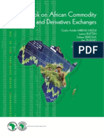 2013 BD SpecialReport AfDBGuidebookonAfricanCommoditiesandDerivativesExchanges 28NOVEMBER 2013