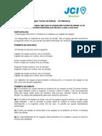 Reglas Torneo de Debate - JCI Mendoza.doc