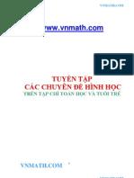 Tuyen Tap Cac Bai Toan Hinh Hoc [Thtt]