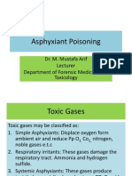 Asphyxiant Poisoning