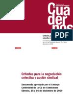 Pub13524 Nueva Etapa n 10. Criterios Para La Negociacion Colectiva y La Accion Sindical