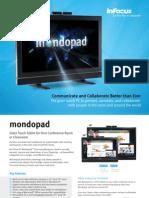 InFocus Mondopad INF5520a INF7021 Datasheet En