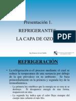 REF 1 Refrigerantes y Ozono