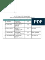 Daftar an Usaha Pengangkutan LPG