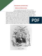 Antecedentes de Porfirio Díaz