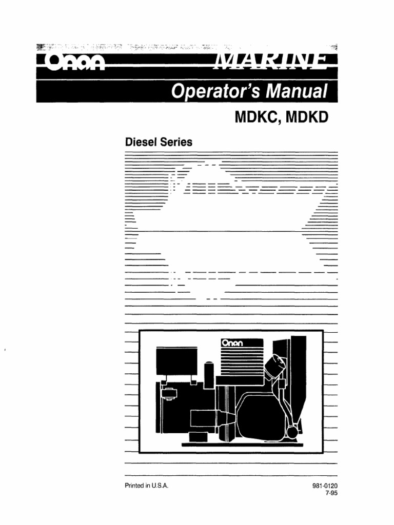 Onan Generator Operating Manual 981 01201 Motor Oil Battery P216 Wiring Diagram Electricity