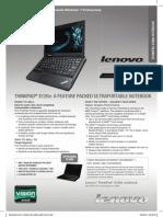 thinkpad-x230-datasheet pdf | Laptop | Personal Computers