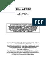 2003 Ab Exam - Free Response Solutions