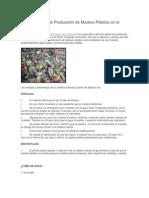 Primera Planta de Producción de Madera Plástica en El Perú