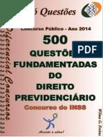 500 Questões Direito Previdenciario