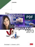 Tabela de Precos Fitas e Adesivos Industriais 2013 v2 Jul2013