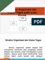 Struktur Organisasi Konstruksi