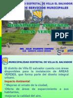 Diagnostico Ambiental Areas Verdes