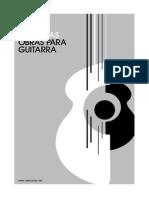 Julio Salvador Sagreras Obras Para Guitarra