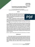 Dimensi Serat Dan Proporsi Sel Per Lingkaran Tumbuh Kayu Sungkai (Peronema Canescens Jack)