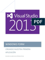 Visual Studio 2013 WIndows Form