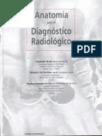 Anatomía Para El Diagnóstico Radiológico