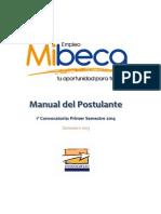 Manual Del Postulante Mibeca