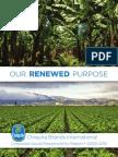 Our Renewed Purpose