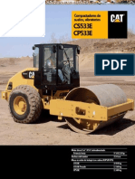 Catalogo Rodillo Compactador Cs533e Cp533e Caterpillar