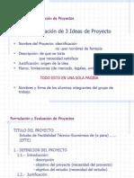 Formulación y Evaluación de Proyectos 2
