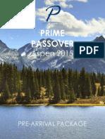 Aspen Prime Passover Pre-Arrival Package 7