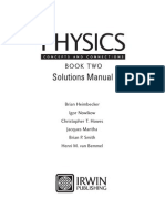 Physics Concepts and Connections, Book Two - Solutions Manual