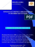 Presentation - Power Electronics Arrangements in Distributed Systems