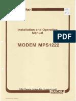 Racal 1222 Config Manual