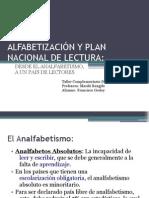 ALFABETIZACIÓN Y PLAN NACIONAL DE LECTURA