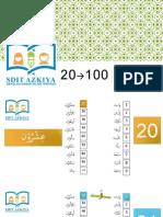 20-100 Bilangan Arab