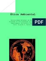1 - Ética Ambiental
