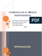Comercio en El México Independiente (2)