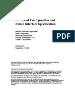 ACPIspec30- Advanced Configuration & Power Interfacce Specification