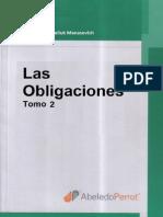 Las Obligaciones Tomo II - René Abeliuk Manasevich