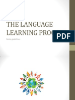 The Language Learning Process