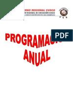 Programación Anual Para El Enfoque Eib.98