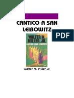 Miller, Walter - Cántico a San Leibowitz