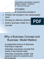 Why a Business Model Matters 13 14