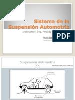 Sistema de La Suspensión Automotriz _FREGOMEZ